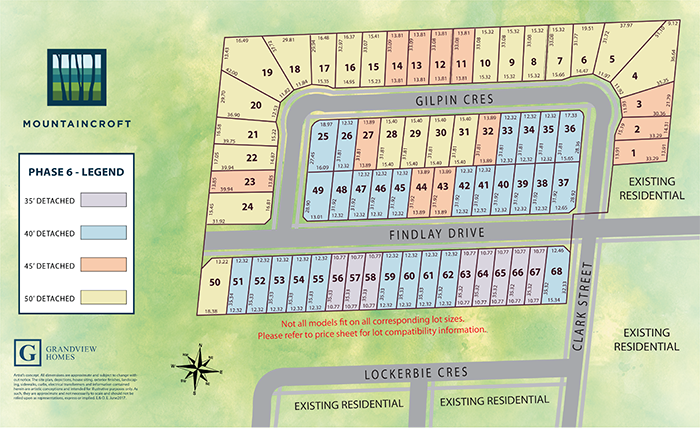 Phase 6 Site Plan